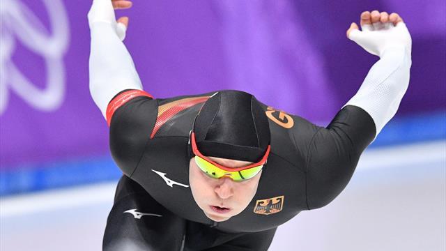 Eisschnelllauf: Ihle sprintet auf Platz elf