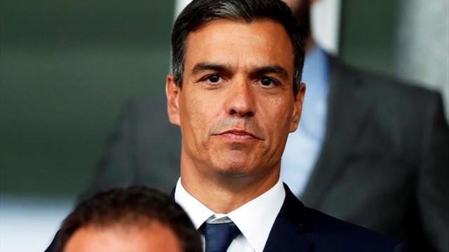 Pedro Sánchez asistirá a la final de la Copa Libertadores en el Bernabéu