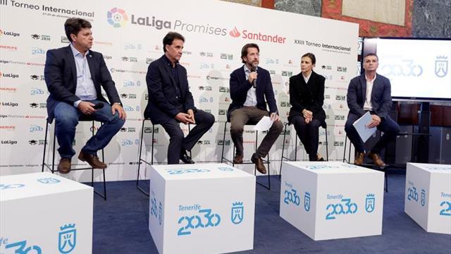 Tenerife acoge el XXIII Torneo Internacional LaLiga Promises Santander