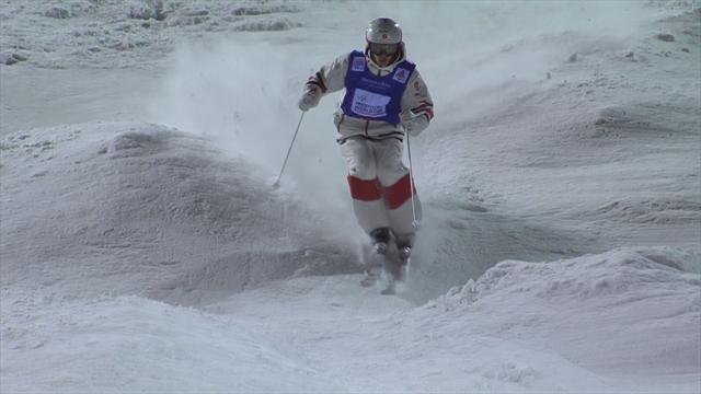 Kingsbury maintains moguls perfection with Calgary victory