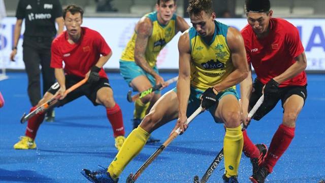 Australia, primera de grupo tras golear a China 11-0 e Inglaterra segunda