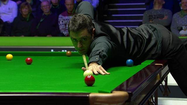 O'Sullivan snubs 'pink maximum' in sealing victory