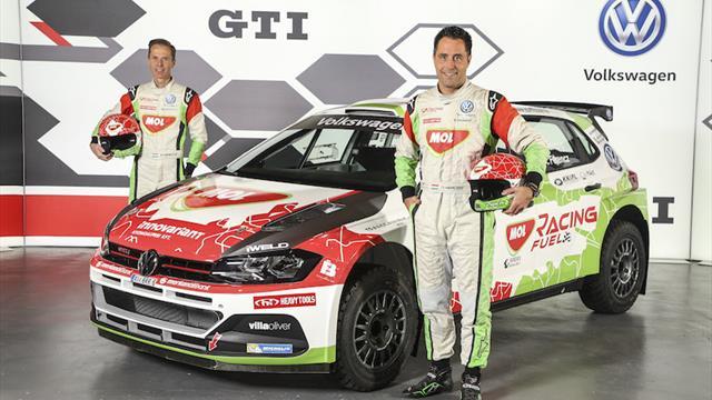 Le MOL Racing Team avec une Polo pour l'ERC 2019