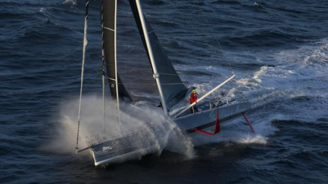 Schwere Prüfung auf dem Atlantik: Herrmann segelt die Route du Rhum