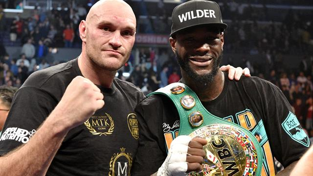 WBC sanctions 'direct rematch' between Fury and Wilder