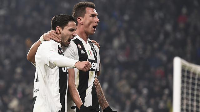 Mandzukic su assist di Cancelo: la Juventus batte anche l'Inter, 1-0 e vittoria numero 14