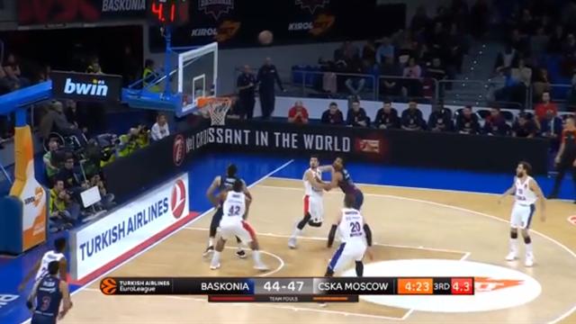 Highlights: Kirolbet Baskonia Vitoria-CSKA Mosca 76-73