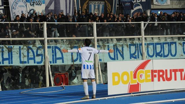 Segna sempre Mancuso, il Pescara ritrova vittoria e primato: Carpi ko