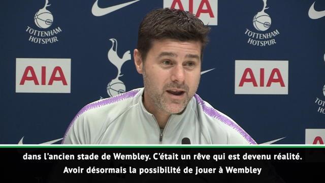Tottenham - La déclaration d'amour de Pochettino à Wembley