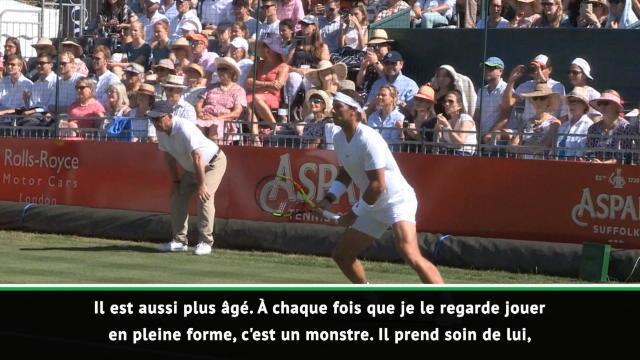 """Interview - Ferrero : """"En pleine forme, Nadal est un monstre"""""""