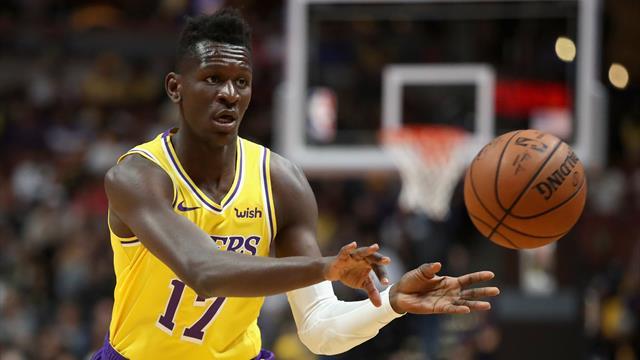 Siegesserie von Schröder und Co. gerissen - Bonga-Debüt bei Lakers
