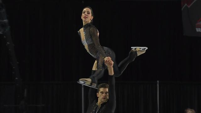 Nicole Della Monica e Matteo Guarise quinti dopo il corto delle finali