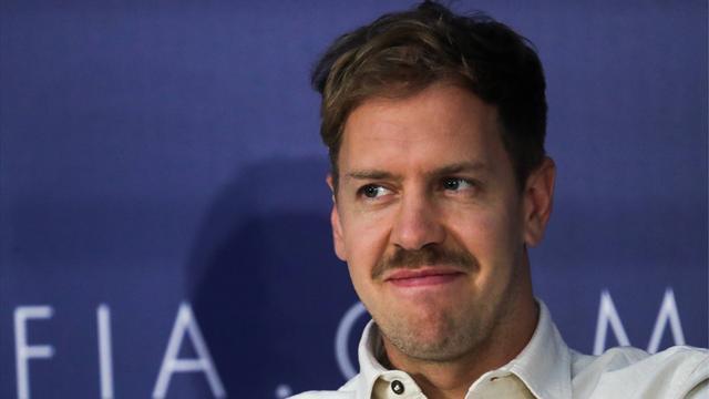 """Vettel cambia look e sfoggia i baffi: """"Ferrari, ci riproveremo. La Mercedes ora è troppo lontana"""""""
