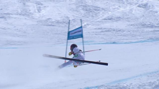'Nasty!' - Brignone crashes at St Moritz