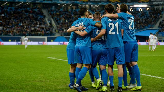 Дзюба, Барриос и Ракицкий – в старте «Зенита» на матч с «Фенербахче»