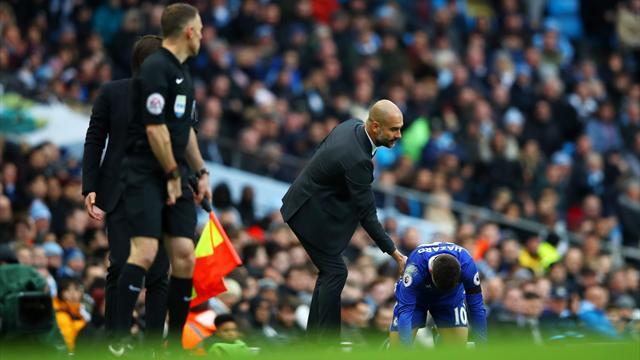 "Guardiola : ""Hazard à City ? Ça n'arrivera pas !"""
