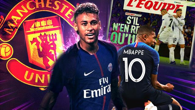 Euro Papers: United in for Neymar as PSG face selling megastars