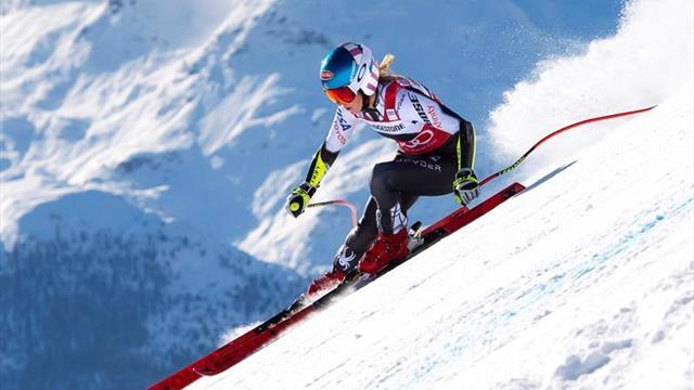 Shiffrin gana en St.Moritz su segundo supergigante consecutivo