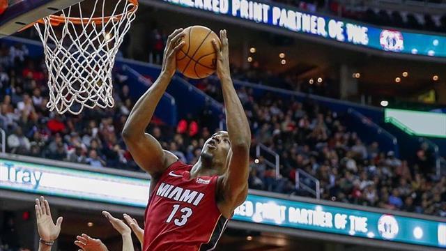 98-115. Adebayo logra doble-doble en victoria de los Heat