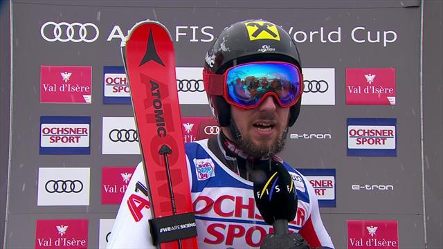Hirscher reflects on 'historic' win