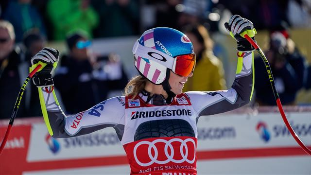 'Incredible' - Shiffrin storms to victory in St Moritz