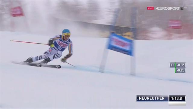 Der 2. Lauf von Felix Neureuther beim Comeback in Val d'Isère