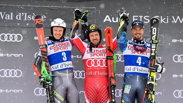 Hirscher continues to reign supreme in Val D'Isere