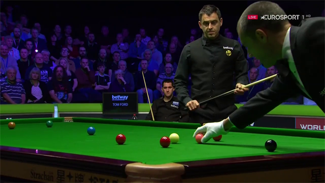 O'Sullivan rattles in century number 985 against Ford