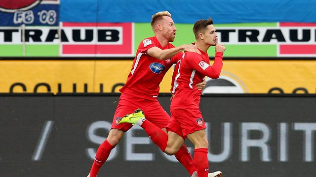 Heidenheim bleibt an Spitzengruppe dran - 4:1 gegen Duisburg