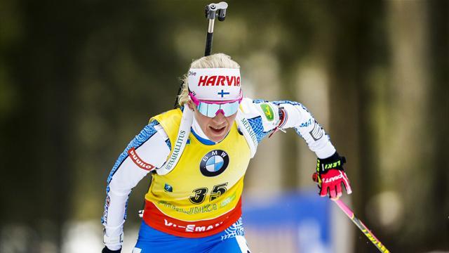 Highlights: So lief der Sprint der Frauen in Pokljuka