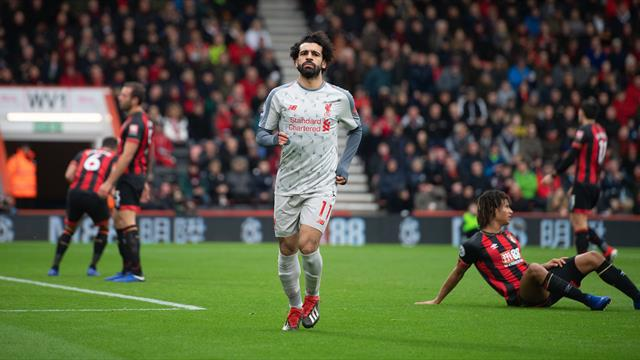Mohamed Salah scores hat-trick as Cherries are picked off by Liverpool