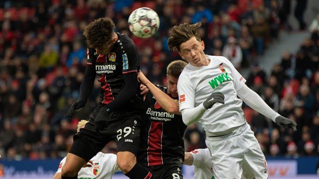 """""""Klassisches Dezemberspiel"""": Leverkusen kämpft Augsburg nieder"""