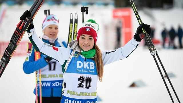 Makarainen trionfa nella sprint di Pokljuka, una super Dorothea Wierer chiude al 2° posto