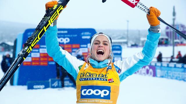 Johaug dominates ladies 15km cross-country in Norway