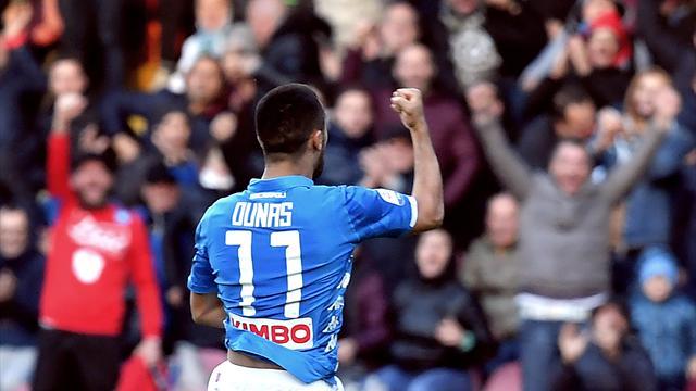 Le pagelle di Napoli-Frosinone 4-0: Ounas è il migliore, che ritorno per Ghoulam