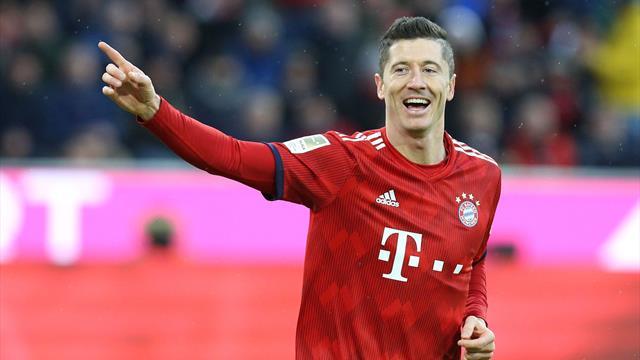 Doppelpack von Lewandowski: Bayern gegen Nürnberg ohne Mühe