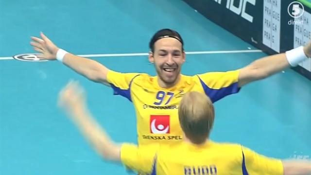Nilsberth skjuter in ledningen i VM-semifinalen