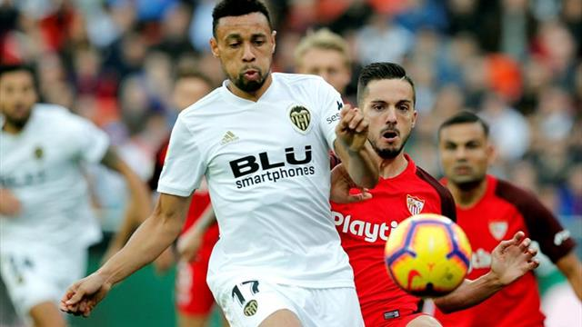 1-1. Diakhaby salva al Valencia en la prolongación e impide el liderato del Sevilla