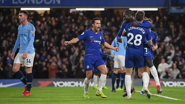 ⚽😱 El Chelsea acaba con la imbatibilidad del City de Guardiola, que pierde el liderato (2-0)