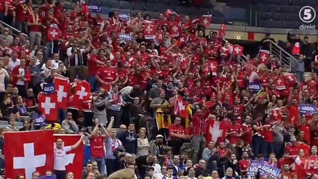 Det schweiziska svaret - kvitterat i semifinalen