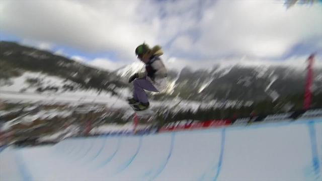 Copper Mountain: Chloe Kim vince la gara di half-pipe femminile