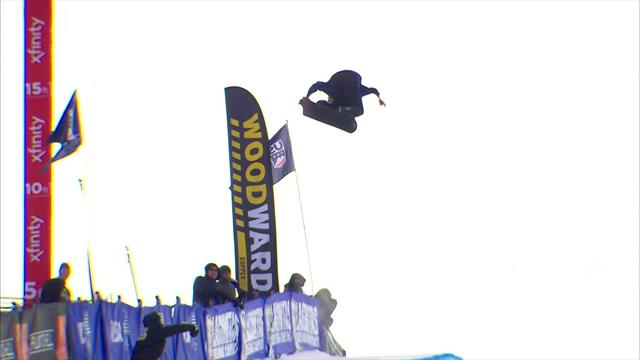 Copper Mountain: Scotty James vince la gara di half-pipe maschile