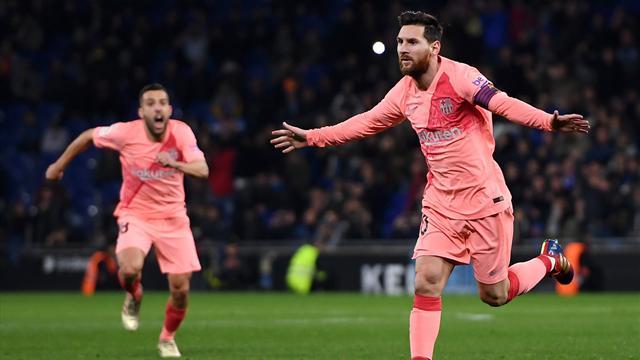 ⚽ El Barça golea al Espanyol con un recital memorable de Messi y es más líder (0-4)