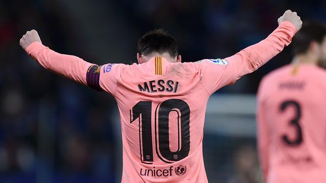 Un coup à droite, un coup à gauche : Messi a régalé avec deux coups francs somptueux