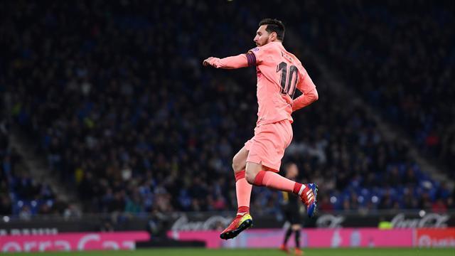 Messi da un altro pianeta, doppietta e recita mostruosa: Espanyol ko 4-0