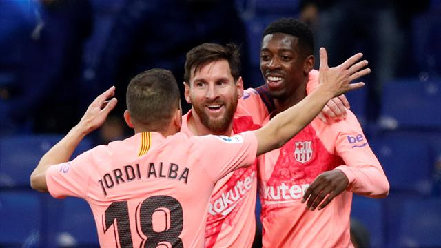 Ousmane Dembele wants to stay at Spanish champions Barcelona