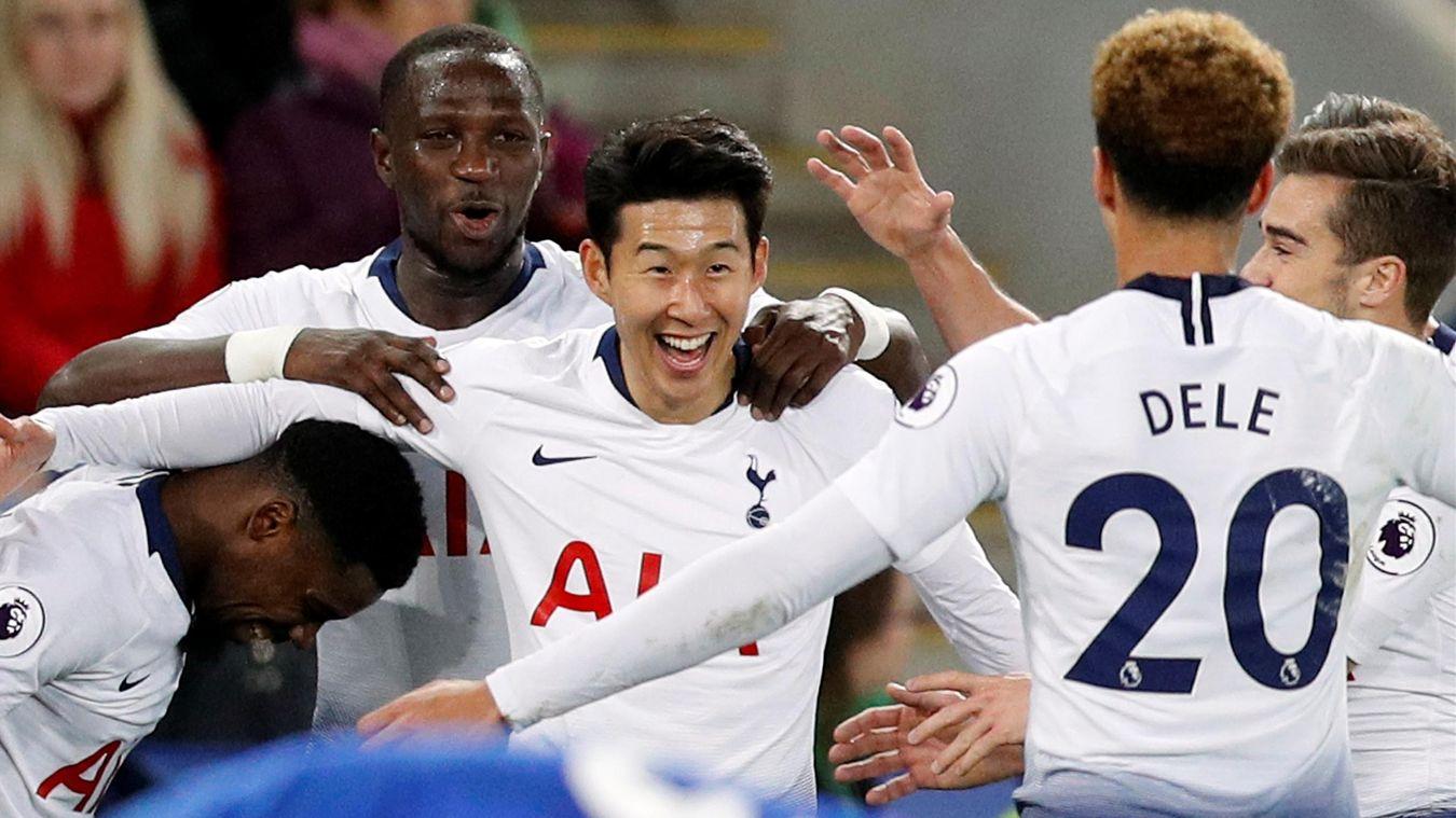 Tottenham récupère sa 3e place en battant Leicester (0-2)