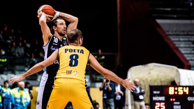 Hobson, Delfino e Wilson: Torino batte Trento 86-84 lasciandola ultima in classifica