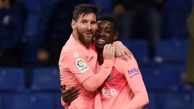 Messi masterclass sees Barcelona crush Espanyol