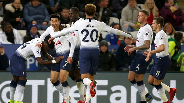 Son Heung-min shines as Tottenham beat Leicester